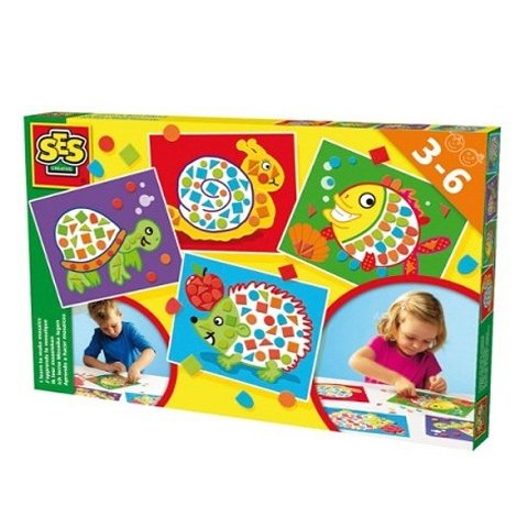 SES - Уча се да подреждам мозайка