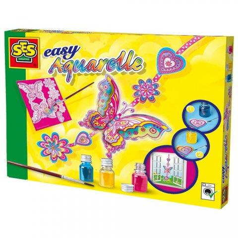 SES - Акварелни боички Пеперуда