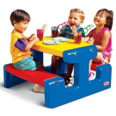 Little Tikes - Маса за пикник Синя