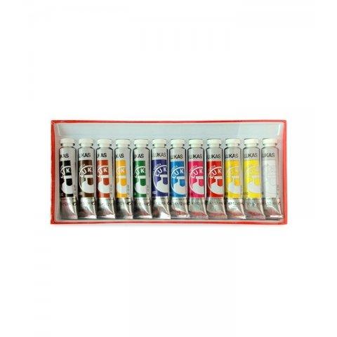 Sense - Акрилни бои, 12 цвята, 12 мл