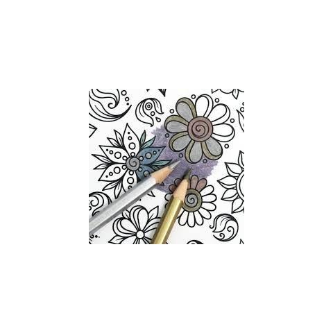 Sense - Цветни моливи - 36 бр. (вкл. 6 бр. металик)