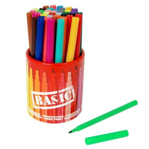 Sense - Флумастери плюс Basic с моливник - 42 бр.