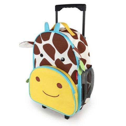 Skip Hop - Детска чанта на колела Zoo Luggage - Жирафчето Джулс