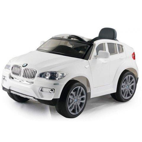 Акумулаторна кола BMW X6 - Бяла