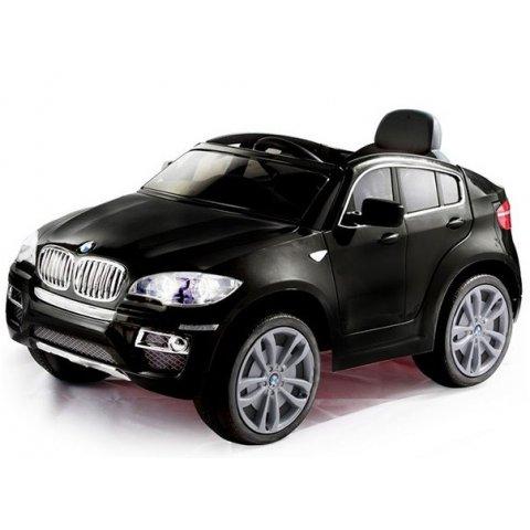 Акумулаторна кола BMW X6 - Черна