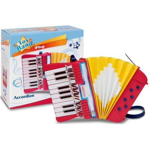 Bontempi - Акордеон с 17 клавиша и 6 баса