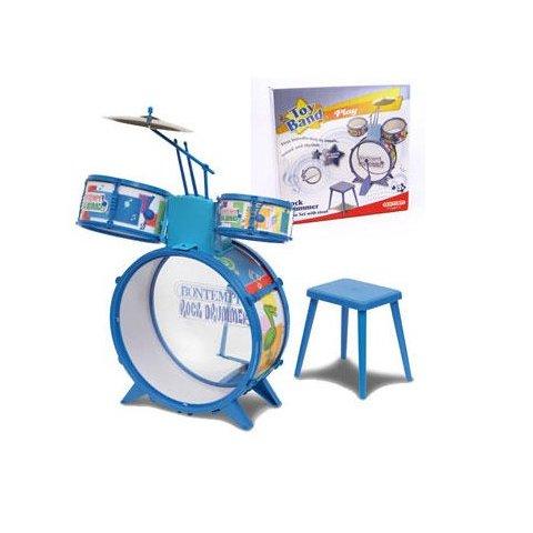 Bontempi - Комплект 4 бр.барабани със стол