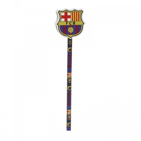 Derform - FC Barcelona Молив с гума-емблема