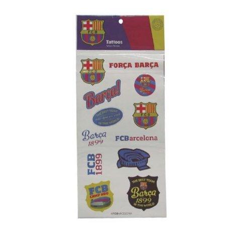 Derform - FC Barcelona Татуировки