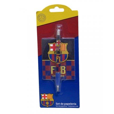 Derform - FC Barcelona Комплект тефтерче и химикалка