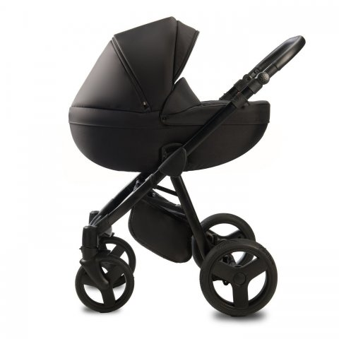 Qumes - Детска количка Bera 2 в 1 - NOIR BLACK