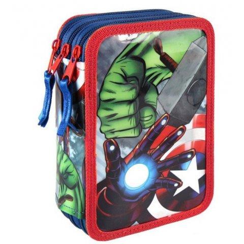 Cerda - Пълен несесер с 3 ципа Avengers