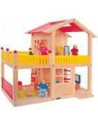 Къща за кукли от дърво на Достъпни Цена | Detence.bg
