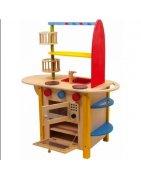Дървени детски кухни и аксесоари