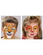 Боички за лице и татуировки