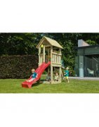 Детски дървени съоръжения