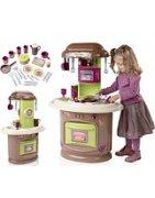 Играчки имитиращи домашния бит, детски кухни, детски ютии, перални и други играчки